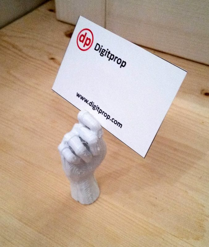 3D printed business card holder | 3D printed | Pinterest | Business ...