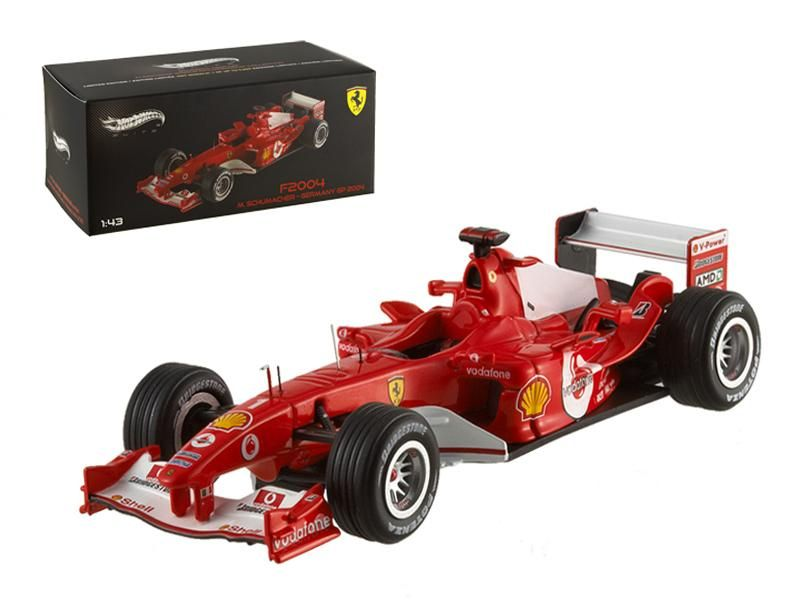 557c51702453 Ferrari F2004 Michael Schumacher Germany GP 2004 Elite 1 43 Diecast ...