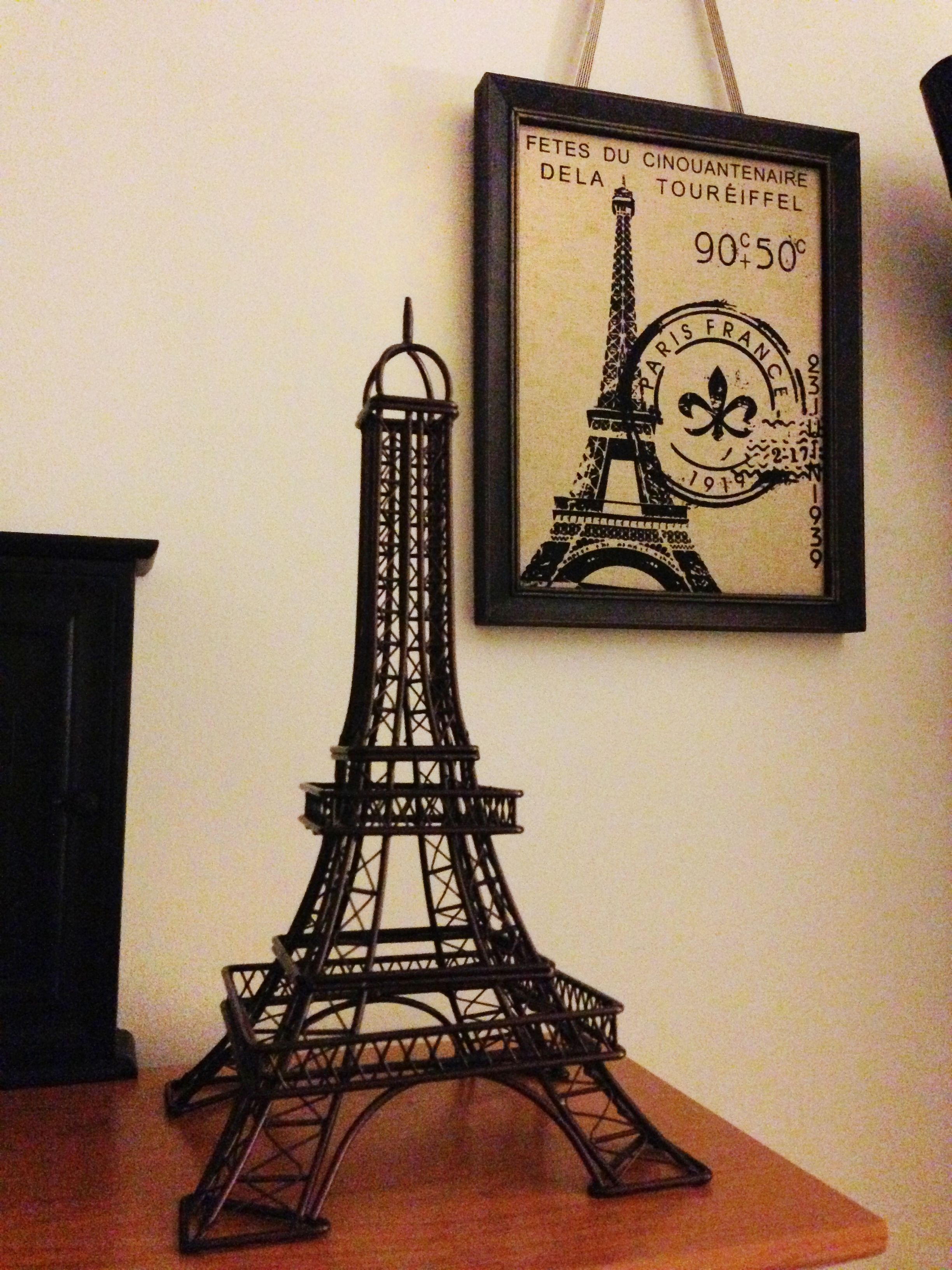 Eiffel Tower Decor