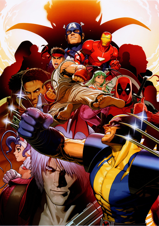 Pin By June Loner On Art Improvement Capcom Vs Marvel Vs Capcom Capcom Art