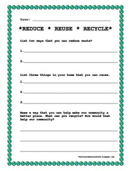 Earth Day Worksheet 2nd Grade Second Grade Earth Day
