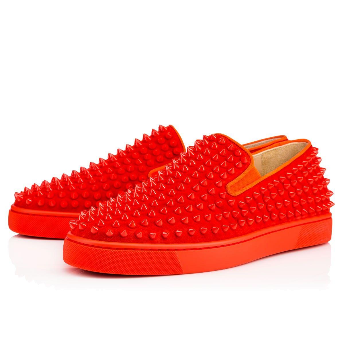 Roller tennis shoes - Shoes Roller Boat Men S Flat Christian Louboutin