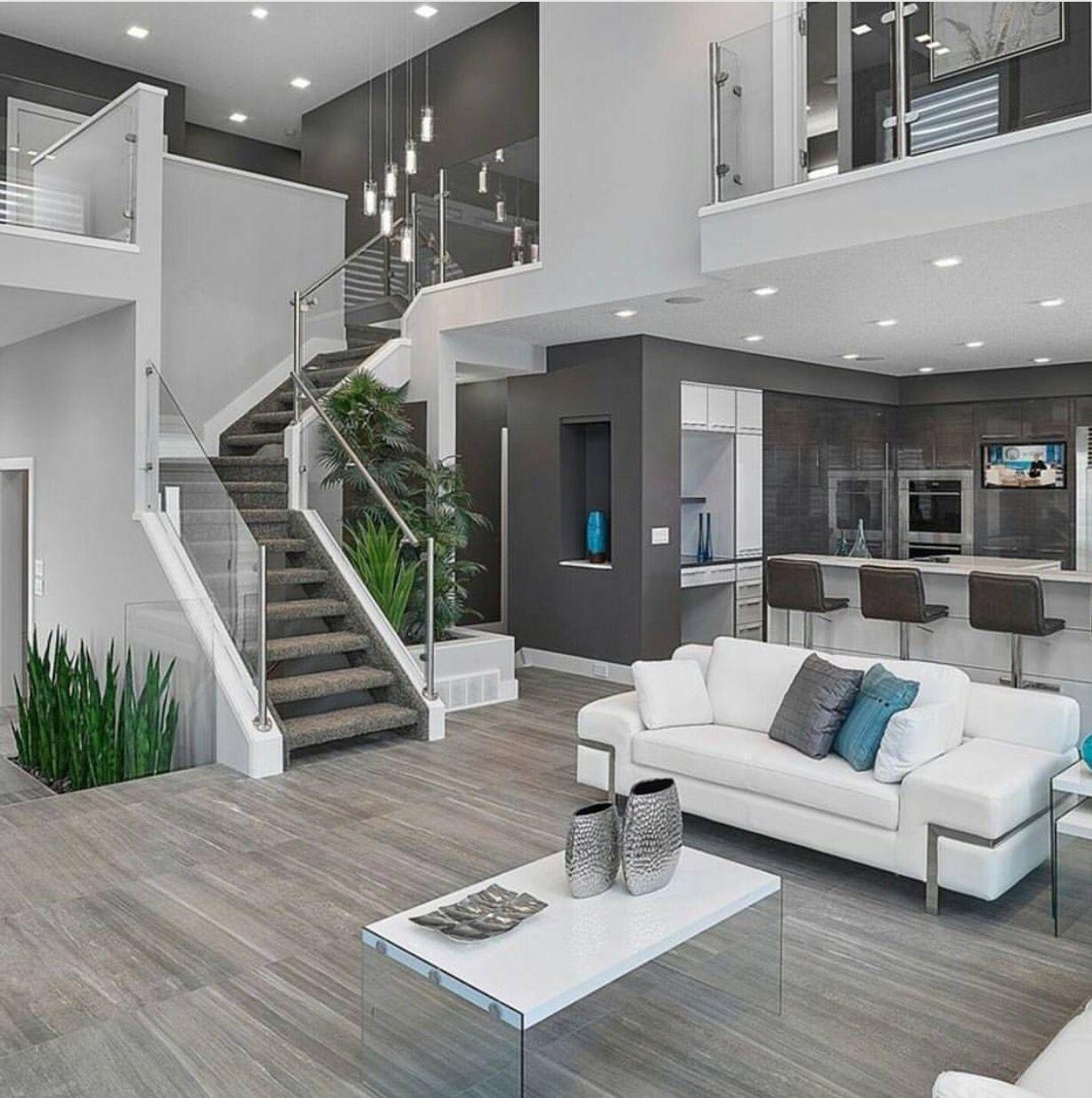 Gray And White Delight New Interior Design Modern House Design