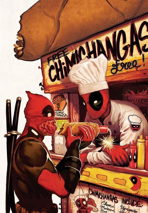 chimichanga deadpool - Google Search