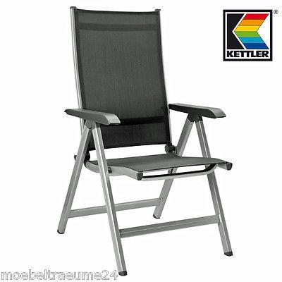 Kettler Basic Plus Multipositionssessel Gartenstuhl Sessel