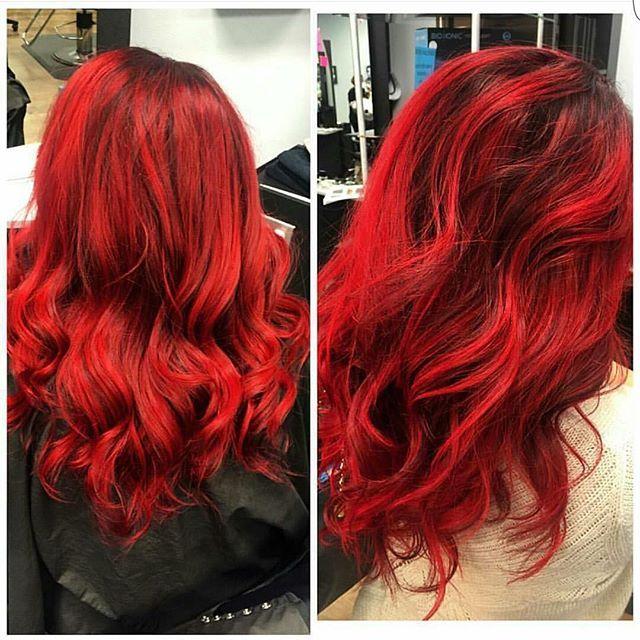 Mod Hair Color Salon On Instagram Red Hair Don T Care Visit Us At Www Modsalonbeautystore Com Mod Colorsalon C Mod Hair Red Hair Don T Care Hair Color