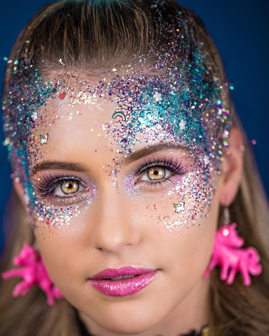 By Go Get Glitter Fairy makeup, Glitter makeup looks