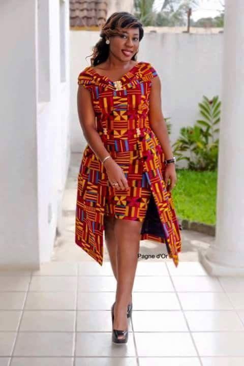 Kitenge | Mode africaine robe, Robe africaine moderne et Robe africaine