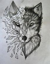Photo of Tattoo Wolf – 60 inspirierende Ideen für Männer und Frauen – Haus Dekoration…