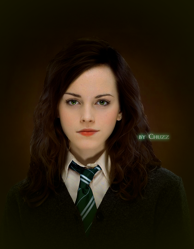 Hermione Granger Slytherin by ~ChuzzMaestose on deviantART | Harry