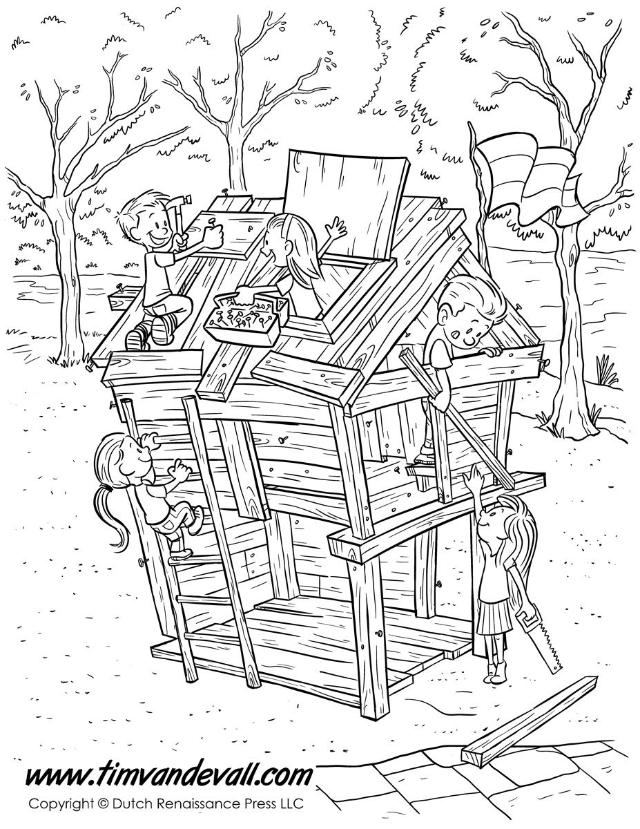fort-coloring-page.jpg (927×1200) | Раскраски 2 | Pinterest