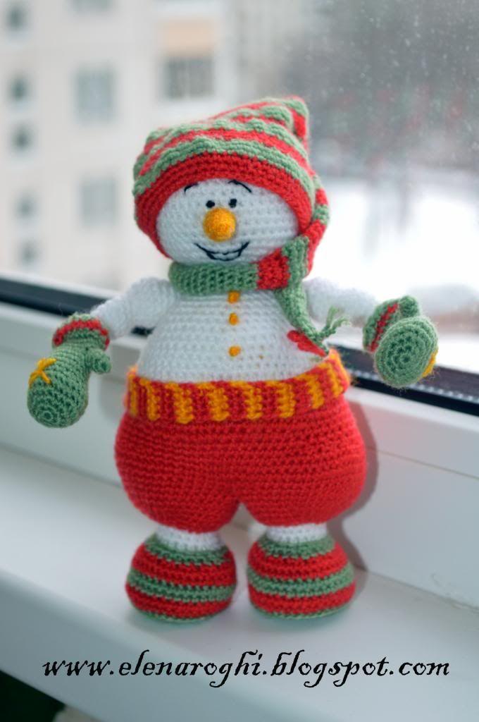 Muñeco de nieve Gnomus | mis creaciones 2014 | Hóember ...