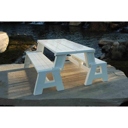 Convert A Bench Plastic Folding Picnic Table Bench Multiple Colors Walmart Com Picnic Table Bench Picnic Table Folding Picnic Table