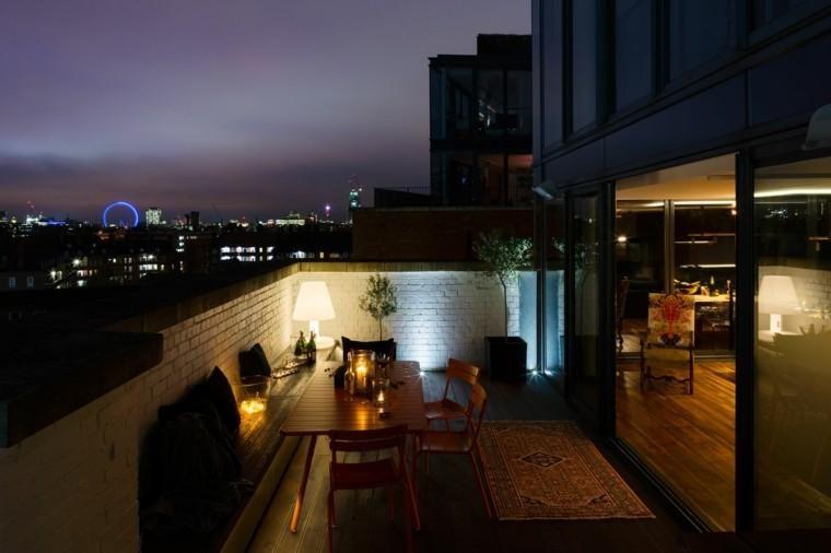 #Gartenterrasse Penthouse Terrasse Dekoration   Moderne Hochhäuser #garten  #home #decoration #decor