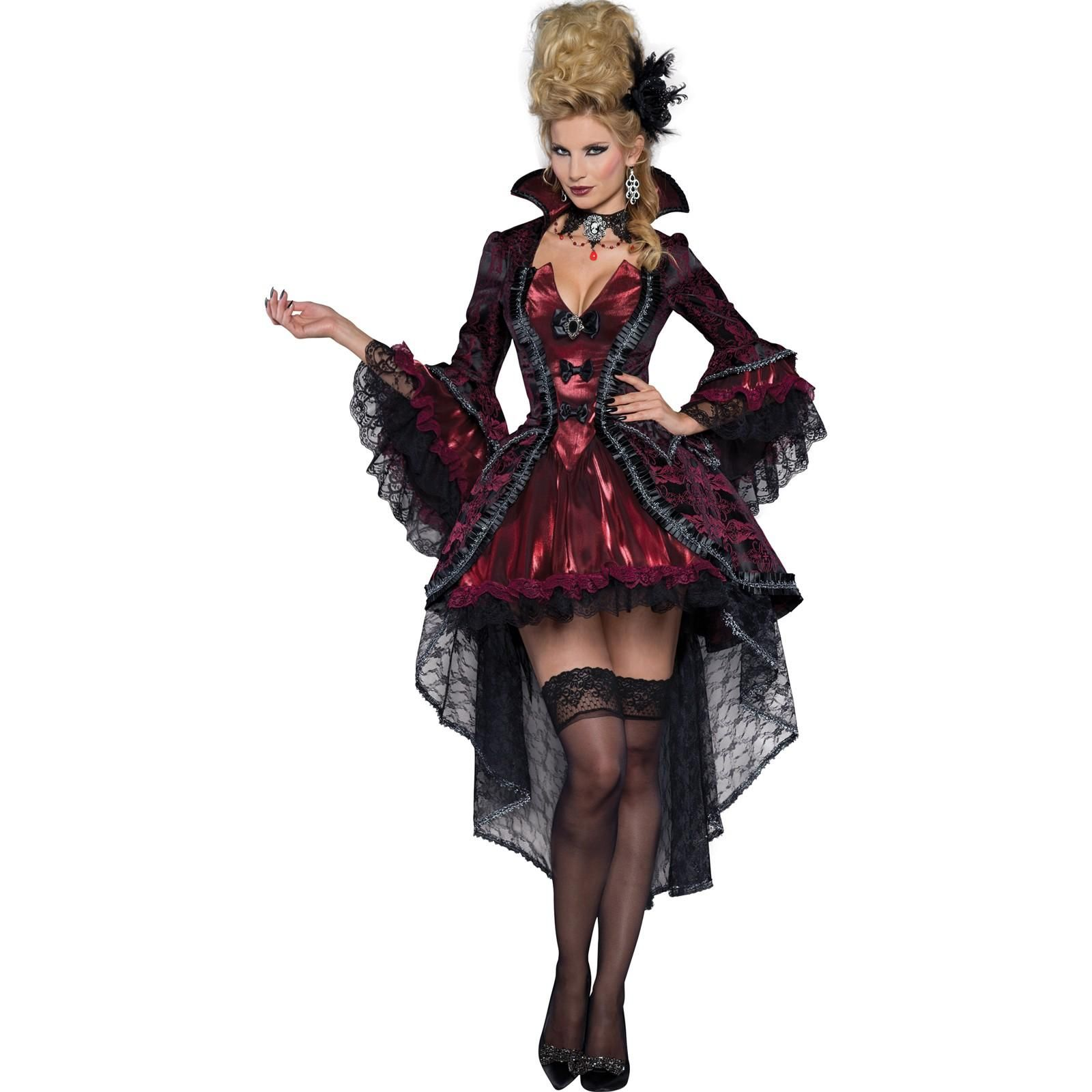 046027a75cbe5 Victorian Vamp Costume For Adults | Halloween | Vampire costumes ...
