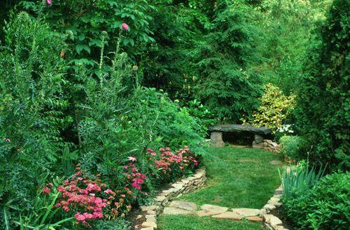 The Garden Of Poetry And Prose Decatur Georgia Landscape Design Garden Design Woodland Garden