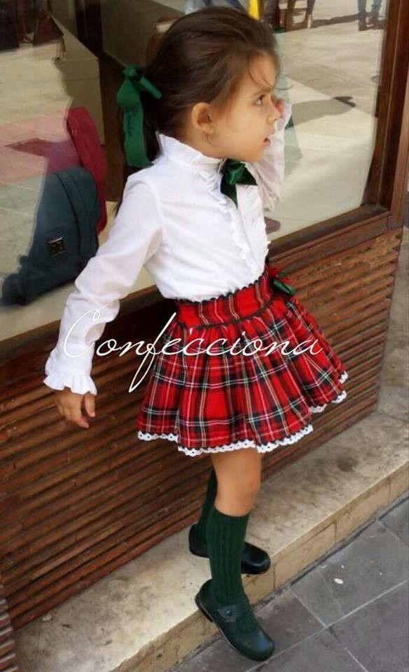 41269bfaa Pin de Kristell Cordova en Ropa Casual Niña Bebe | Moda infantil ...