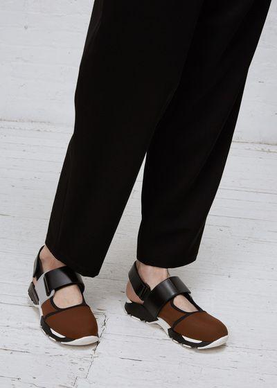 Marni Sneaker Shoe (Tobacco / Titanium / Black)