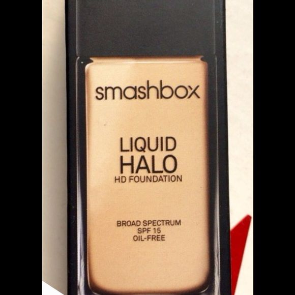 FINAL SALE!!! Smashbox Liquid Halo HD Foundation Brand new.  Authentic.  Shades:  #s' 4 thru 9.  PRICE IS PER ITEM.  If interested please let me know so I can make new listing. Smashbox Makeup Foundation