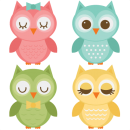Assorted Owl Set SVG files for scrapbooking owl svg file owl svg cut file owl cut files  Afgelaai