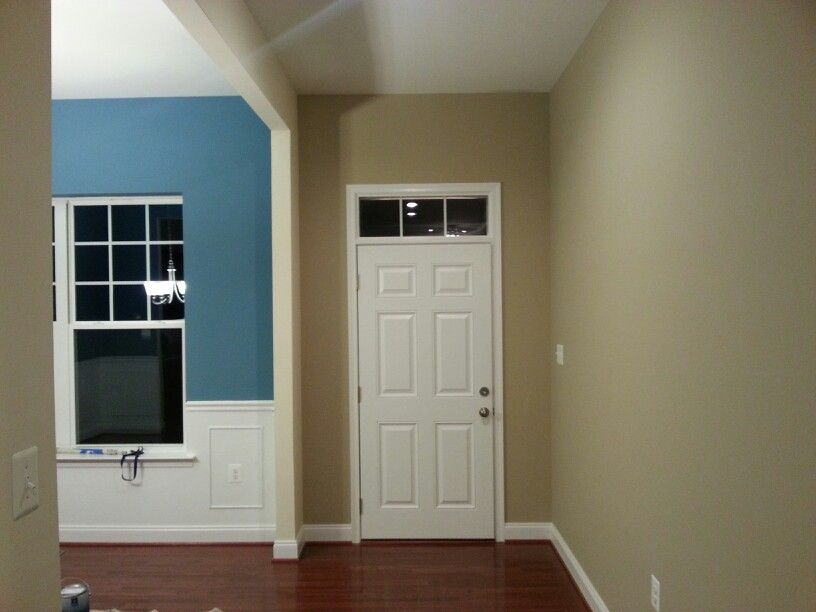 Mountain stream and barcelona beige by sherwin williams - Sherwin williams interior paint finishes ...
