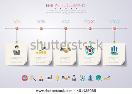 Business concept timeline infograph template realistic paper 5 business concept timeline infograph template realistic paper 5 steps infographic vector banner can wajeb Choice Image