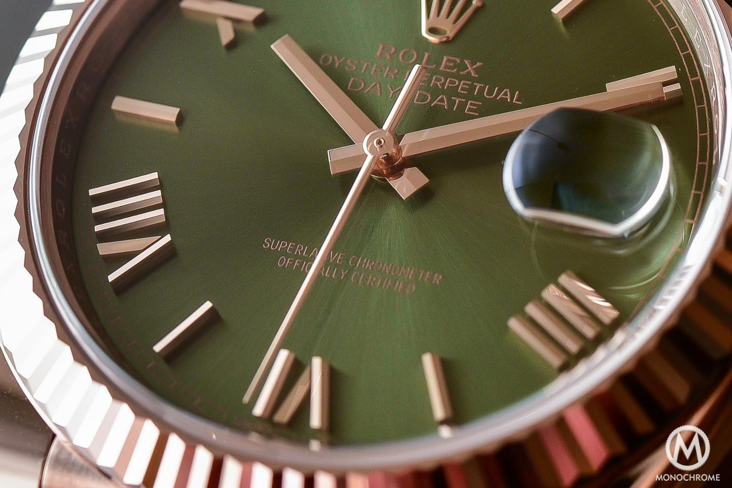 Rolex Day-Date 60th Anniversary Edition, the President's Watch with Green Dial