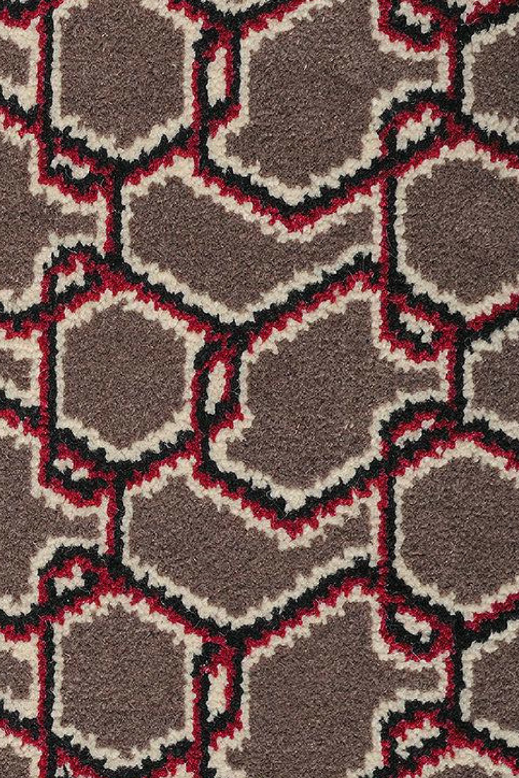 The Quirky B Ashley Hicks Chainmail Panther Carpet Is Ideal For Use In The Lounge Dining Room Bedroom Home Office With Images Alternative Flooring Carpet Stairs Carpet