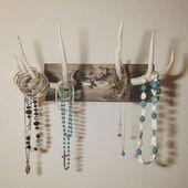 Deer antler hanging jewelry holder   Deer antler hanging   Deer antlers hang on jewelry holder   Deer antlers hang on jewelry holder