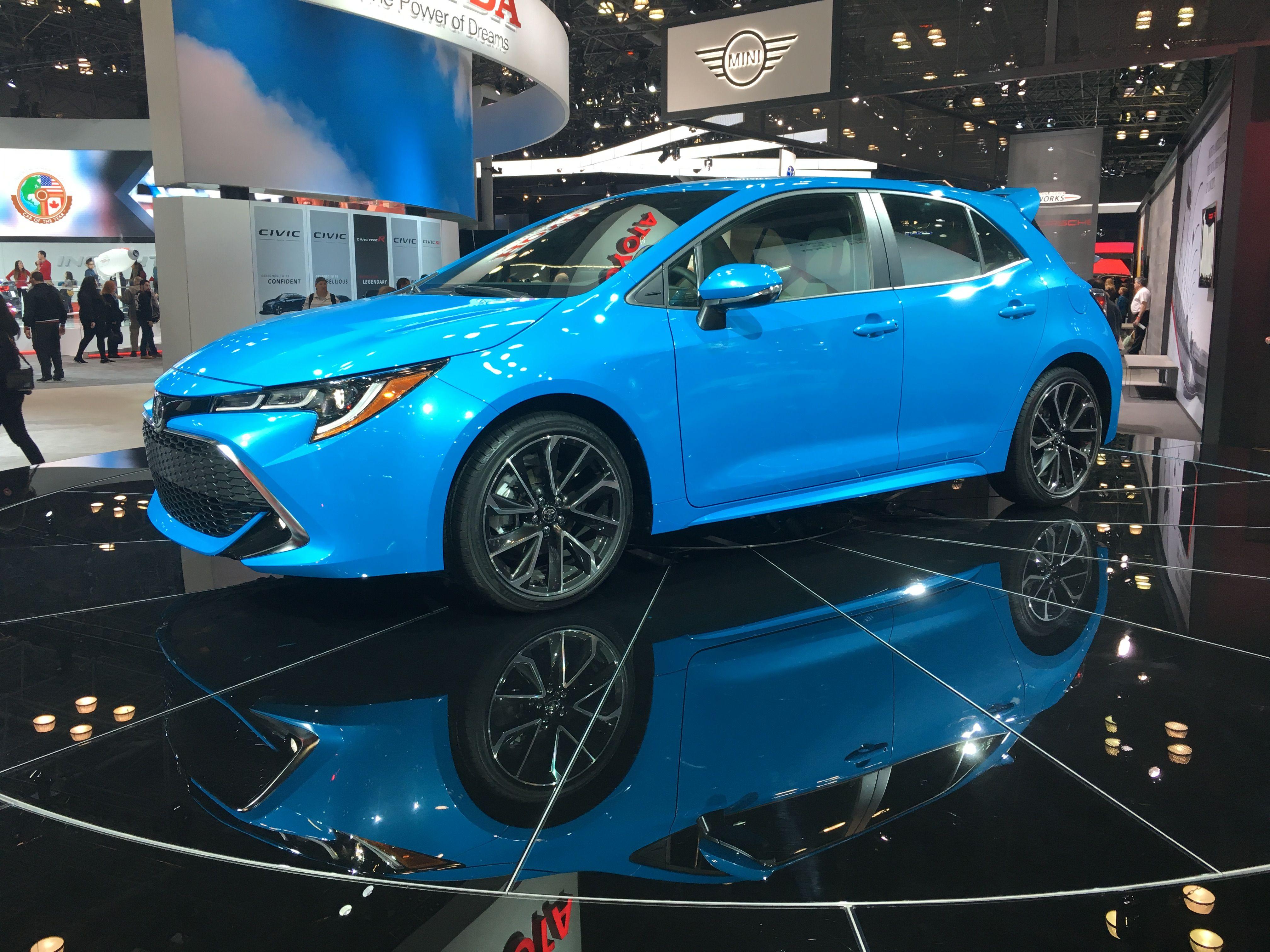 2019 Toyota Corolla Hatchback Corolla hatchback, Toyota