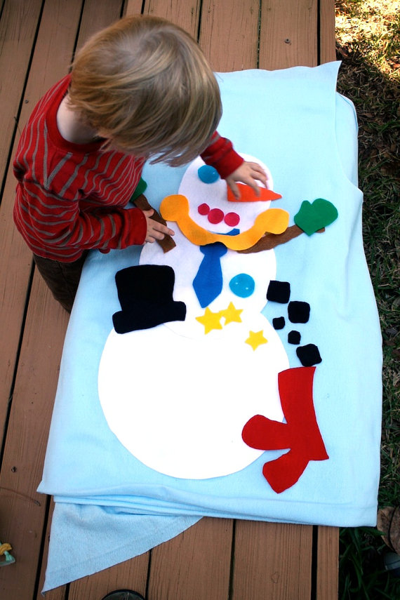 Felt Christmas Tree for Toddlers - Beauty through imperfection