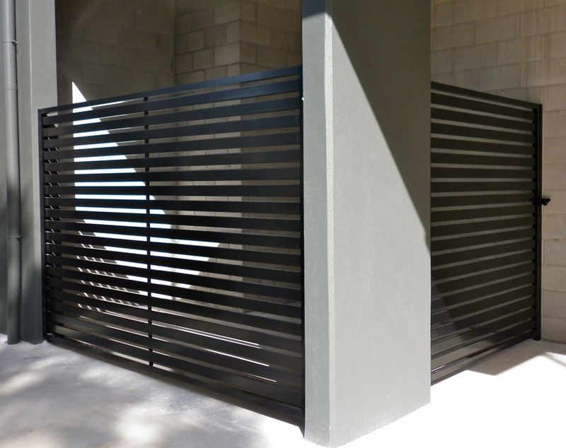 Metal Slat Fence Casa Pool Fence Fence Glass Pool