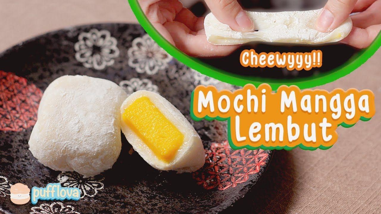 Membuat Mochi Mangga Lembut Mango Mochi Recipe Youtube Resep Makanan Resep Kue