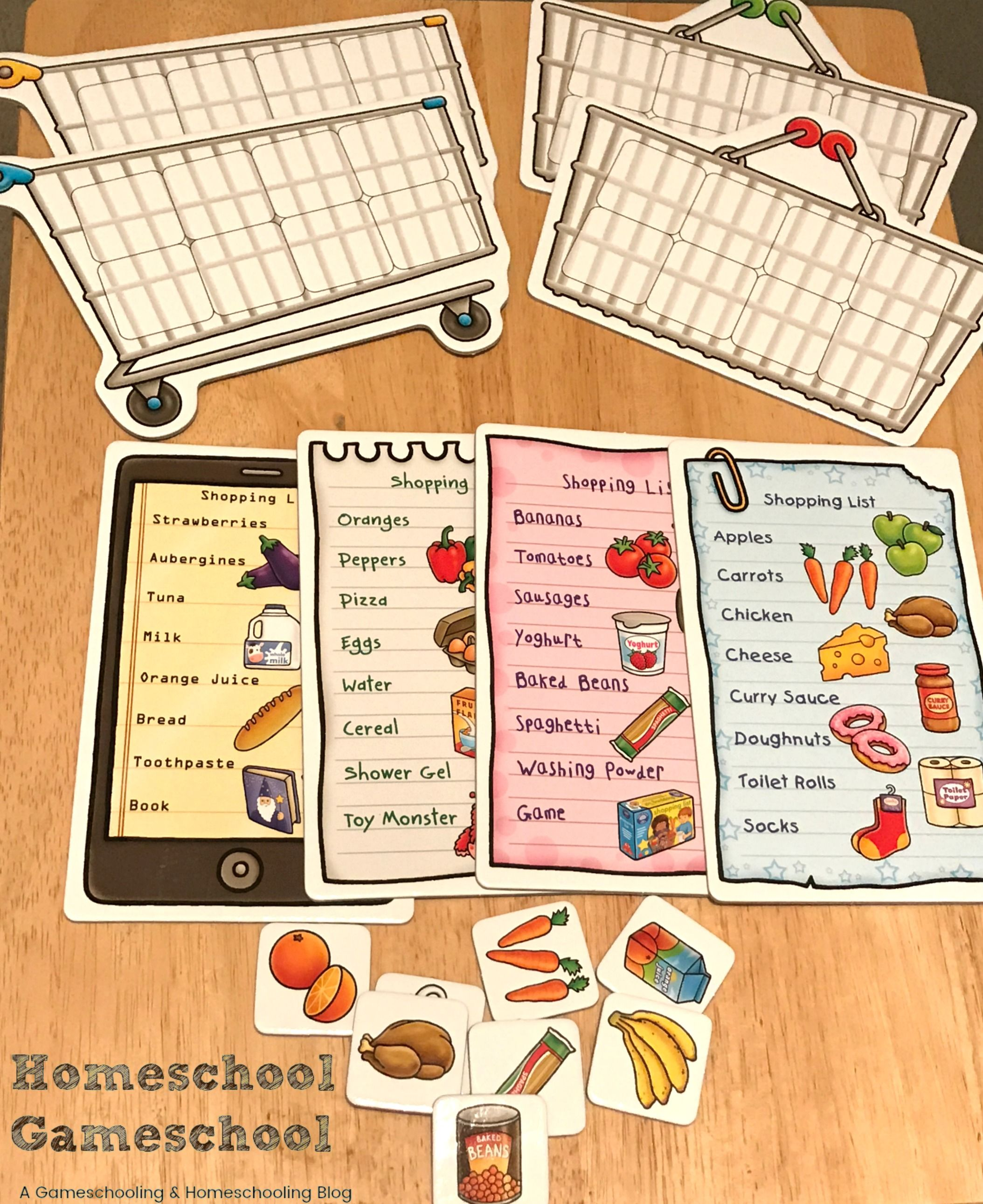 Shopping List By Orchard Toys Review