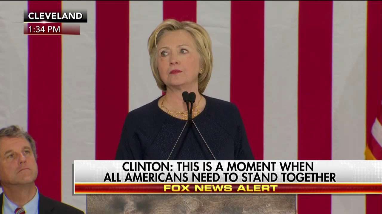 Clinton: Have to Make It Harder for People to Get 'Weapons of War'