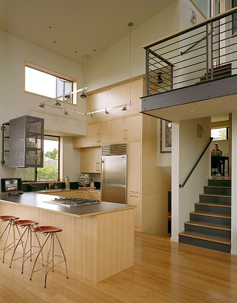 Today is the Zipper Day. On this occasion, we present you a sample for  Modern Homes and Interiors Zipper House,Seattle, USA.