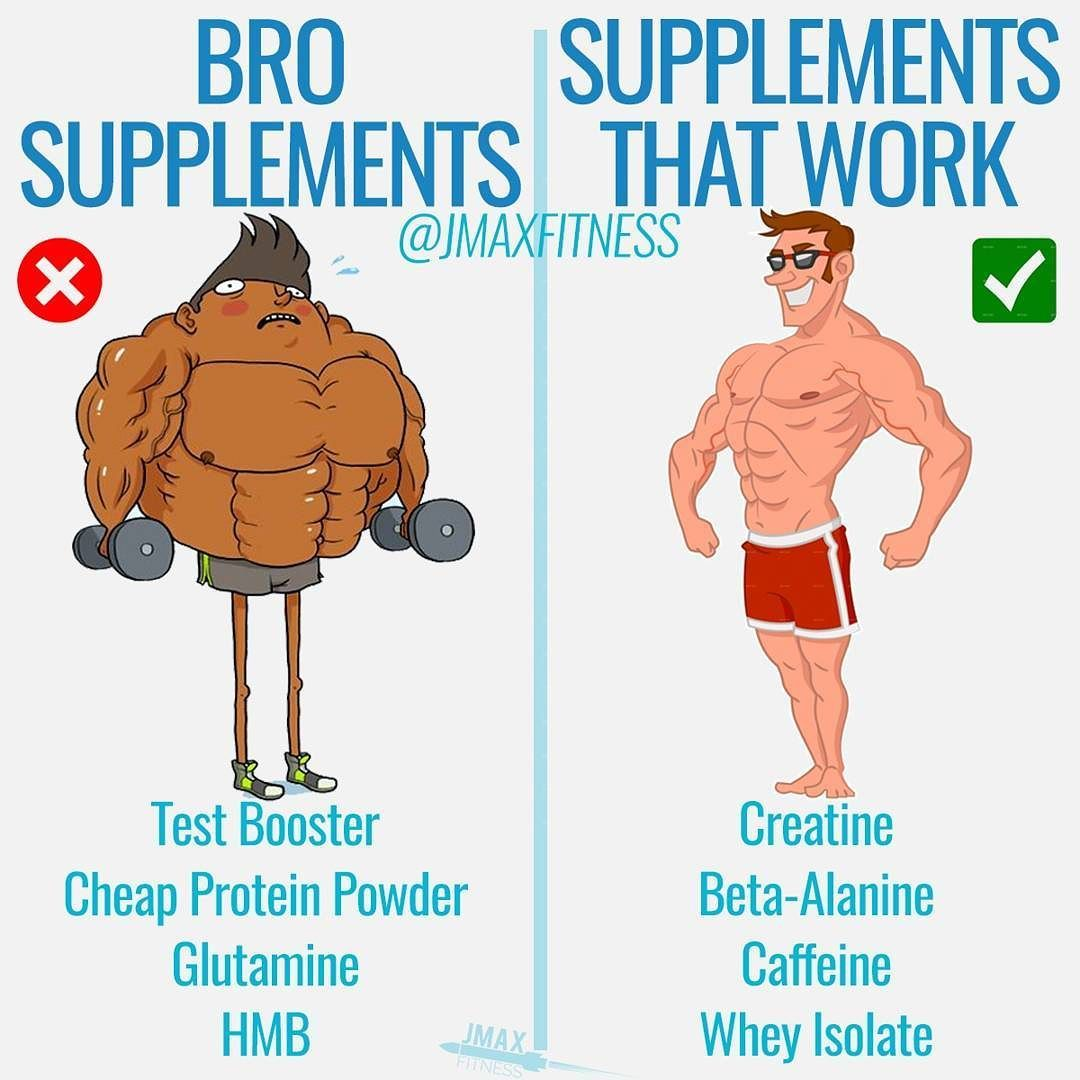 SUPPLEMENTS THAT WORK By @jmaxfitness