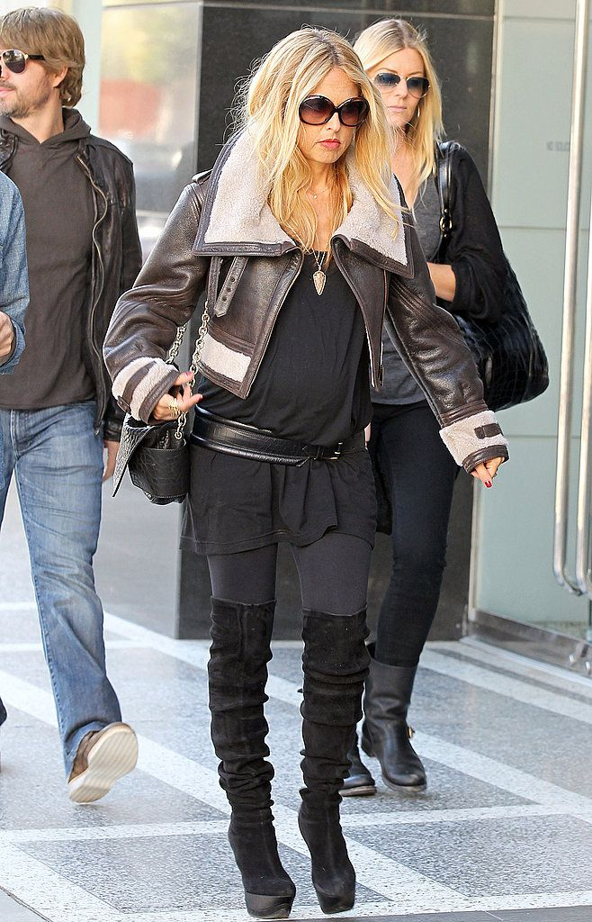 82f369de31de4 Rachel Zoe: A Look at All Her Outfits During Her Pregnancy 2011-03-15  03:23:22 | POPSUGAR Fashion