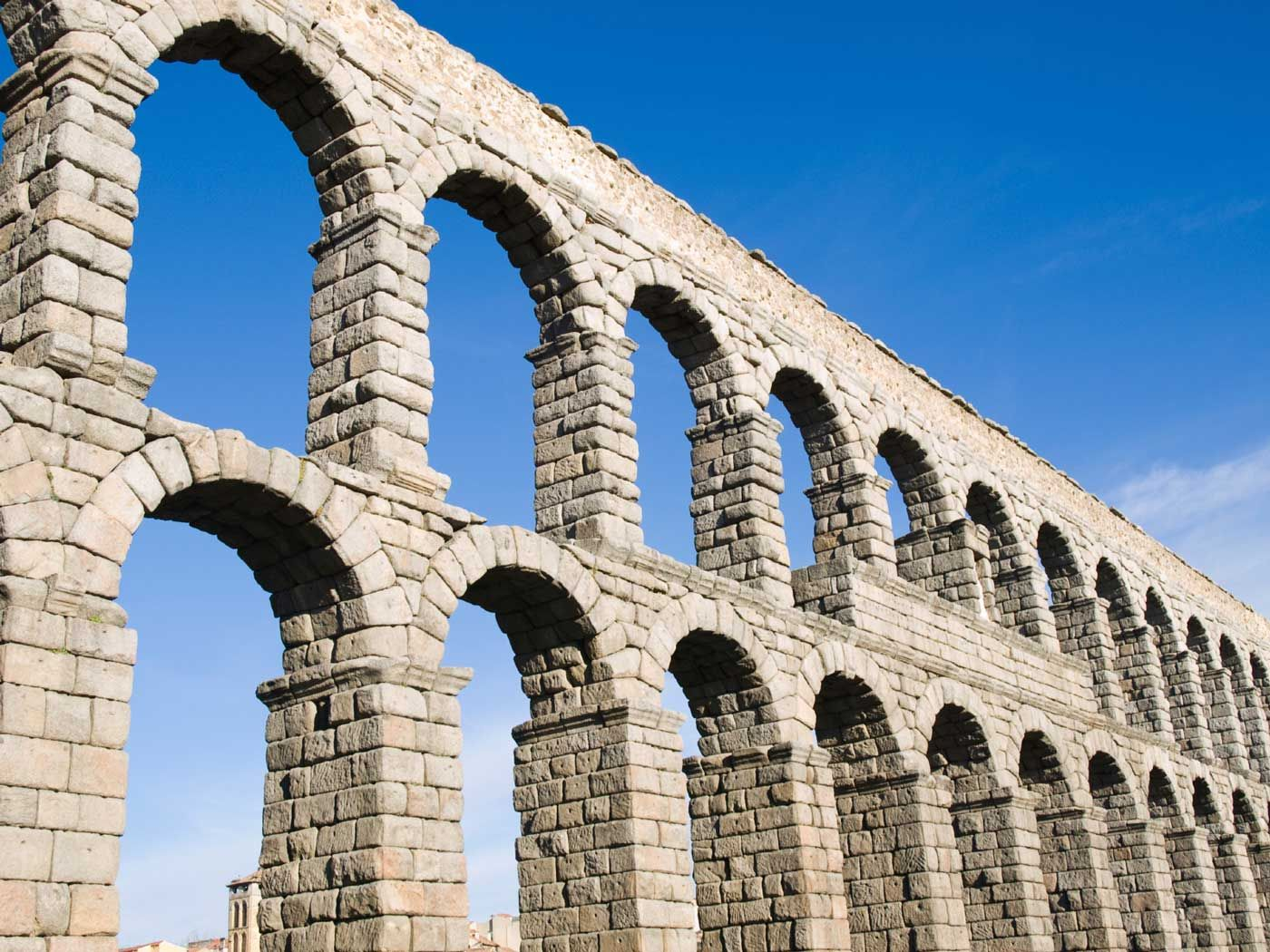 As the Romans became skilled arch builders, they created ...