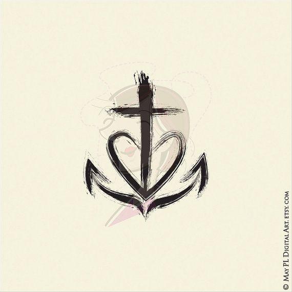 christian clipart featuring church symbols cross equals love faith hope love holy spirit. Black Bedroom Furniture Sets. Home Design Ideas