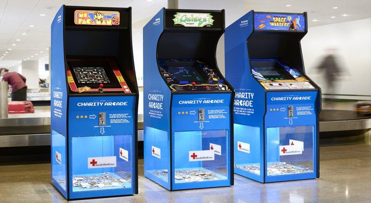 Donate foreign currency to charity using these arcade boxes. & Donate foreign currency to charity using these arcade boxes ... Aboutintivar.Com