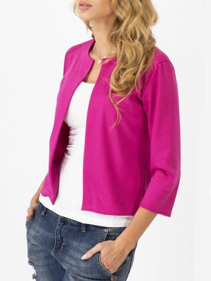 Abrigo+simple+cuello+redondo-rosa+12.79