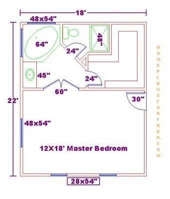 Master Bedroom Floor Plans With Bathroom Master Bedrooms 18x22 Ideas Floor Plan New 18x2 Master Bedroom Addition Master Bedroom Plans Master Bedroom Bathroom