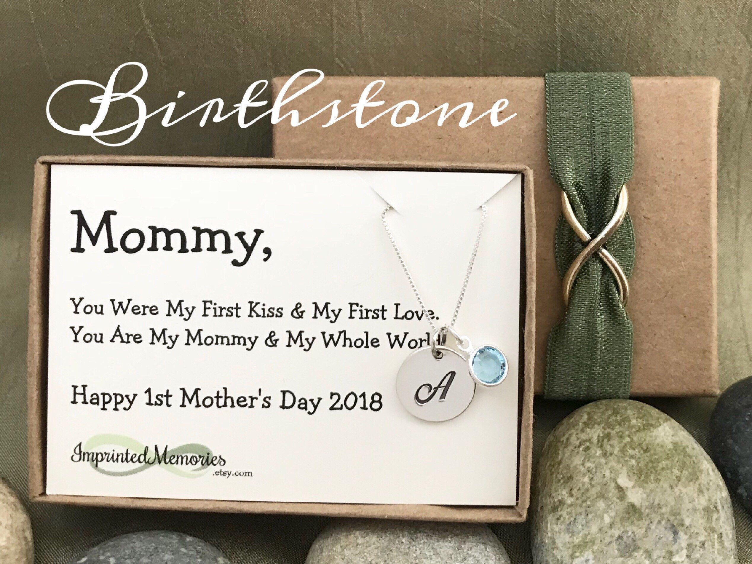 First Mothers Day New Mom Gift Babys Birthday For Mommy From Baby Gifts