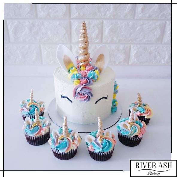 Magical Unicorn Cake+Cupcakes Bundle In 2019