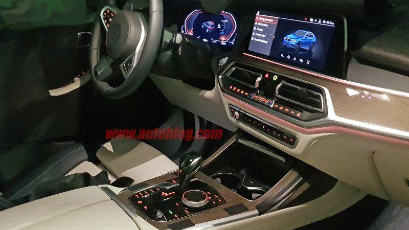 2019 Bmw X7 Interior Revealed In Spy Shots Bmw X7 Best Luxury
