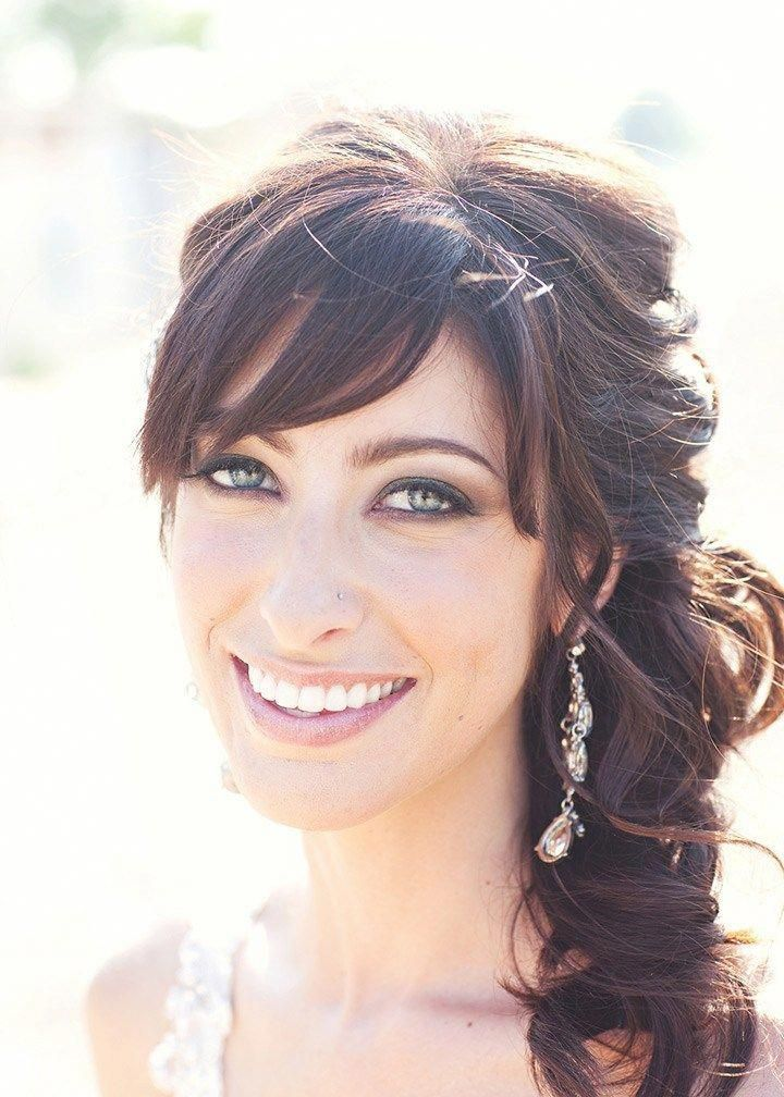 41 The Best Unique Wedding Hairstyles with Bangs ...