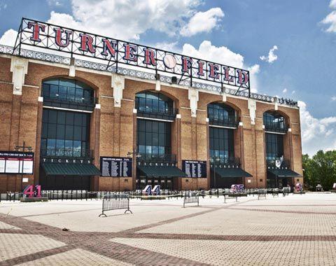Turner Field Atlanta Georgia Home Of The Braves MLB