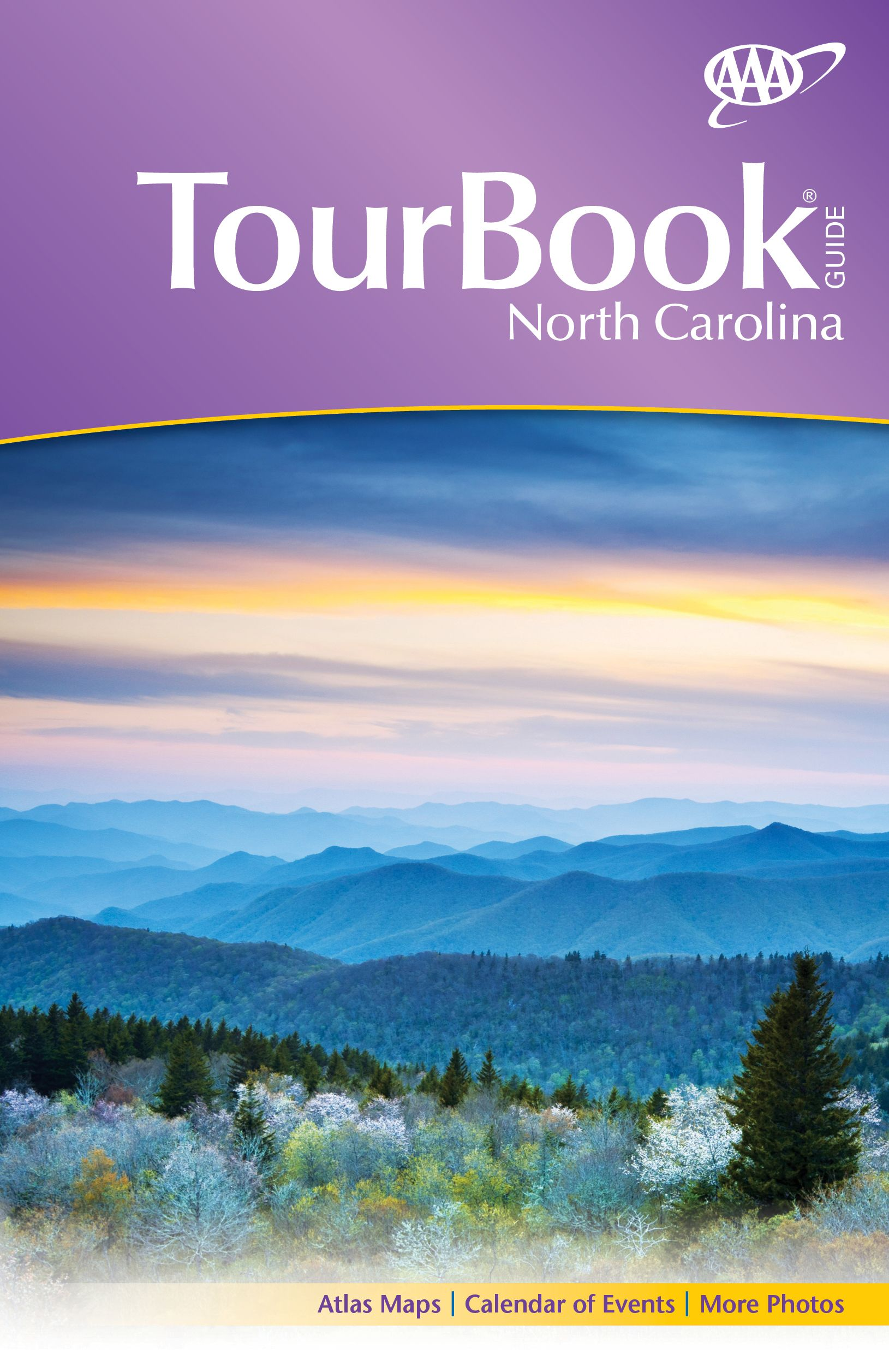 2014 North Carolina AAA TourBook edition valid through