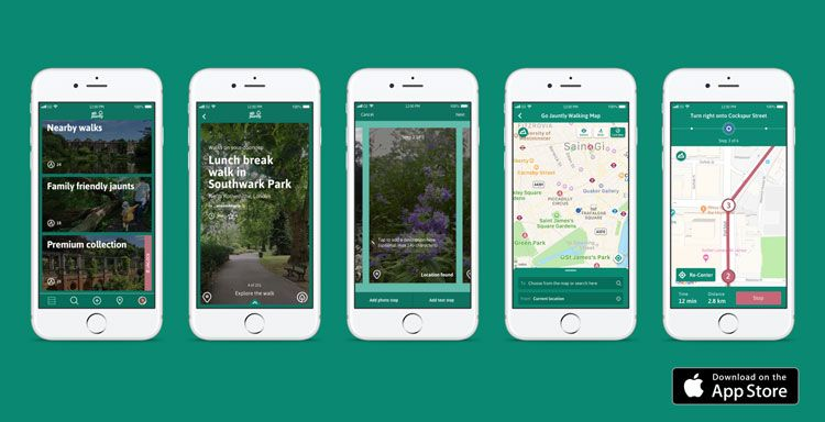 Go Jauntly hopes to get more Londoners walking through green spaces | Walks in london, Green space, Walkable city